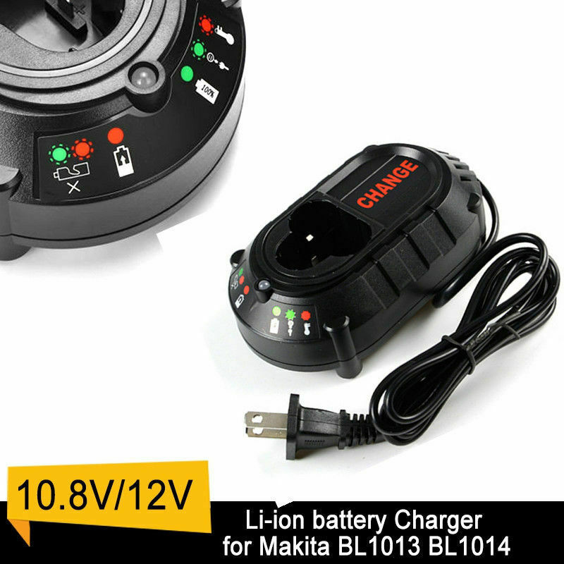 for Makita  10.8V-12V Battery Charger | DC10WA BL1013 BL1014  DF030D DF330D Li-ion Charger