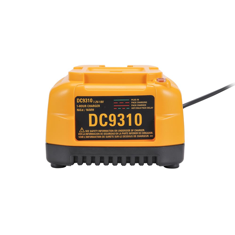 DC9310 Battery Charger For Dewalt 7.2V-18V XRP Ni-Cd & Ni-Mh Battery