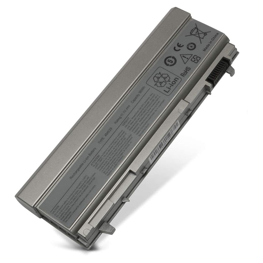 Laptop Battery E6400 Compatible With Dell Latitude E6410 E6510 E6500 Precision M2400 M4400 M4500 M6500 Compatible P/N: 4M529 312-0749 KY265-[11.1V 90WH]-Ulvench Direct