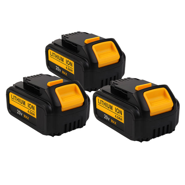 For Dewalt DCB200 20 Volt Max XR 4.0Amp Lithium Ion Battery 3 Pack