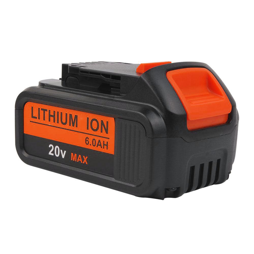 Dewalt DCB200 20V Max Battery Replacement | Li-ion Battery 6.0Ah | front