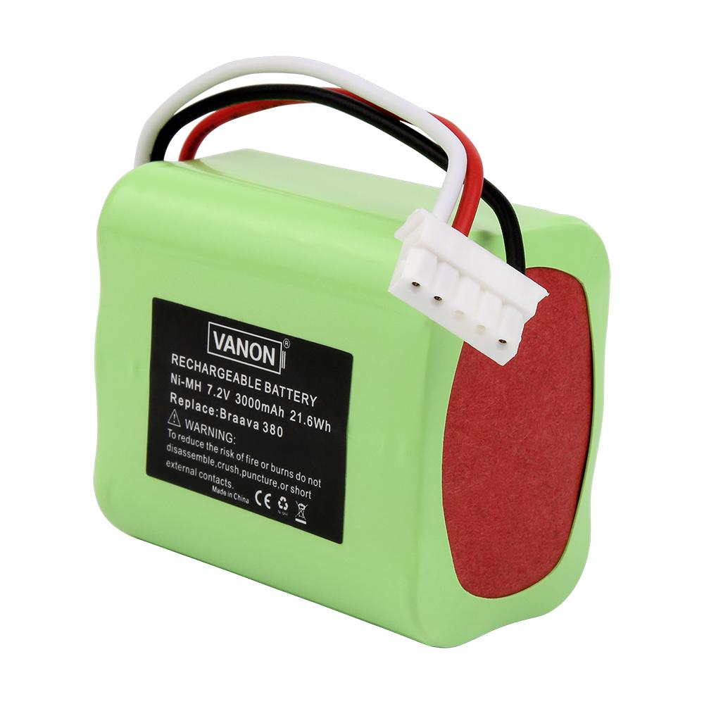 For Irobot Braava Vacuum Cleaner Battery Replacement | 380 3.0Ah Battery - Vanonbattery