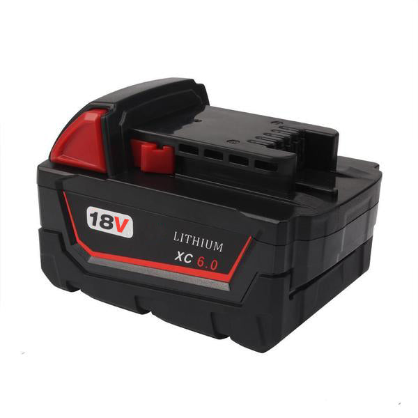For Milwaukee M18 18V Battery Replacement 6.0Ah Li-ion Battery