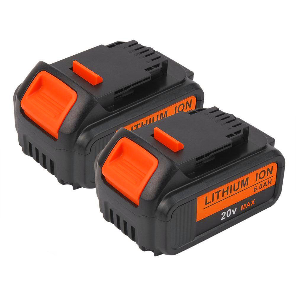 Dewalt 20V Max XR Battery Replacement | DCB205 6.0Ah | two