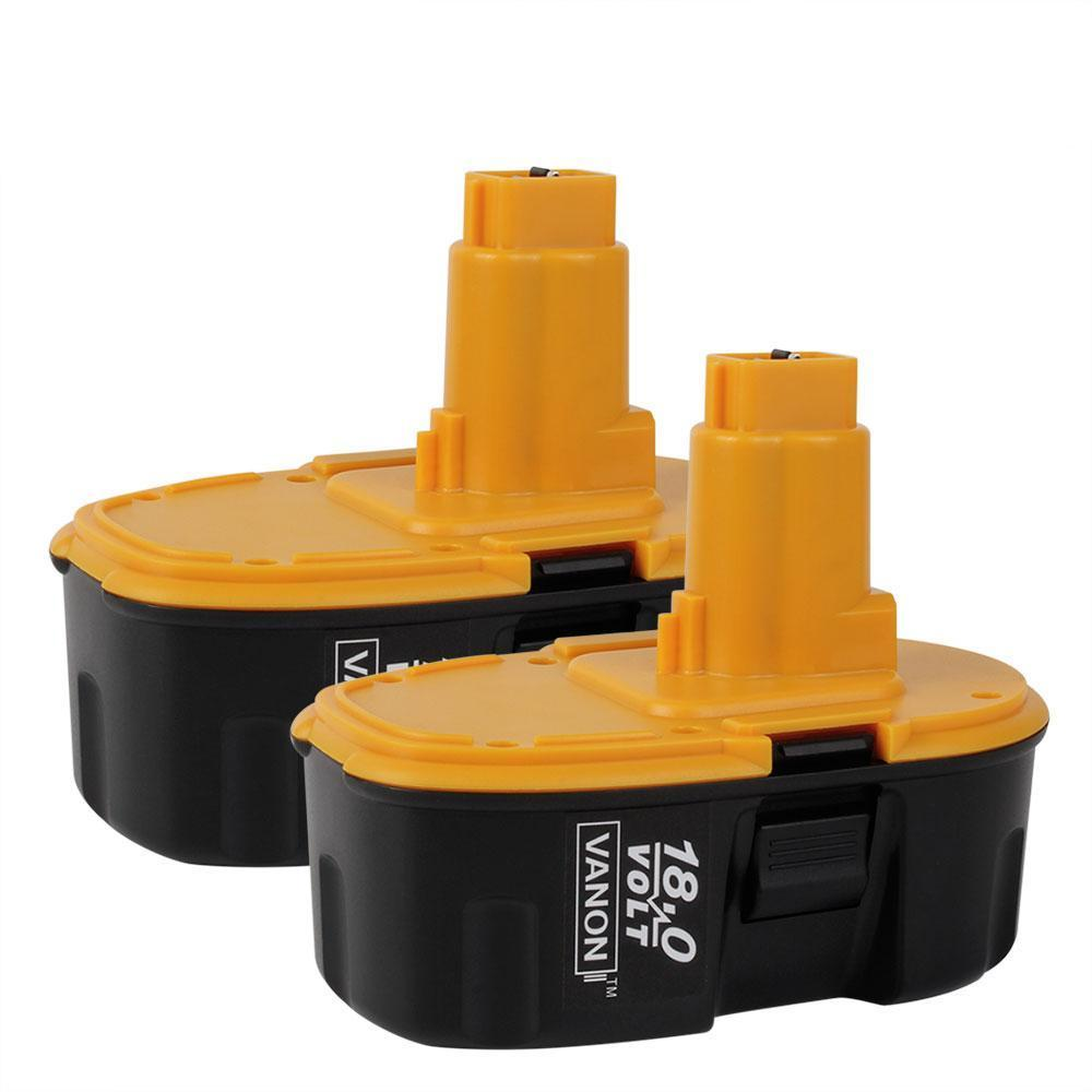 For DeWalt 18V Battery Replacement | DC9096 3.0Ah NI-CD Battery 2 Pack - Vanonbattery