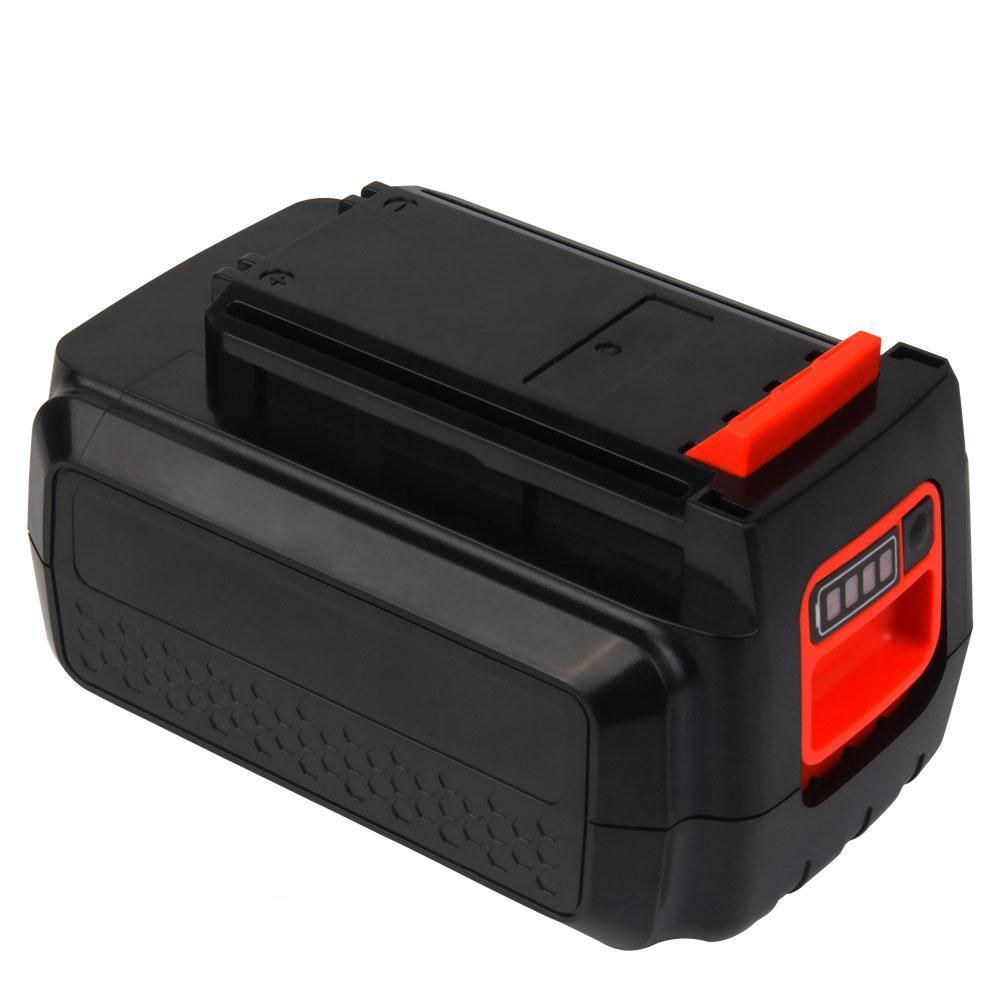For Black and Decker 40V Battery Replacement | LBXR36  LBX2040 LBX36 LBXR2036 2.0Ah Li-ion Battery - Vanonbattery