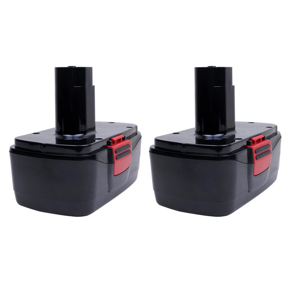 For Craftsman 19.2V Battery Replacement | 130279005 2.0Ah Ni-CD Battery 2 Pack - Vanonbattery