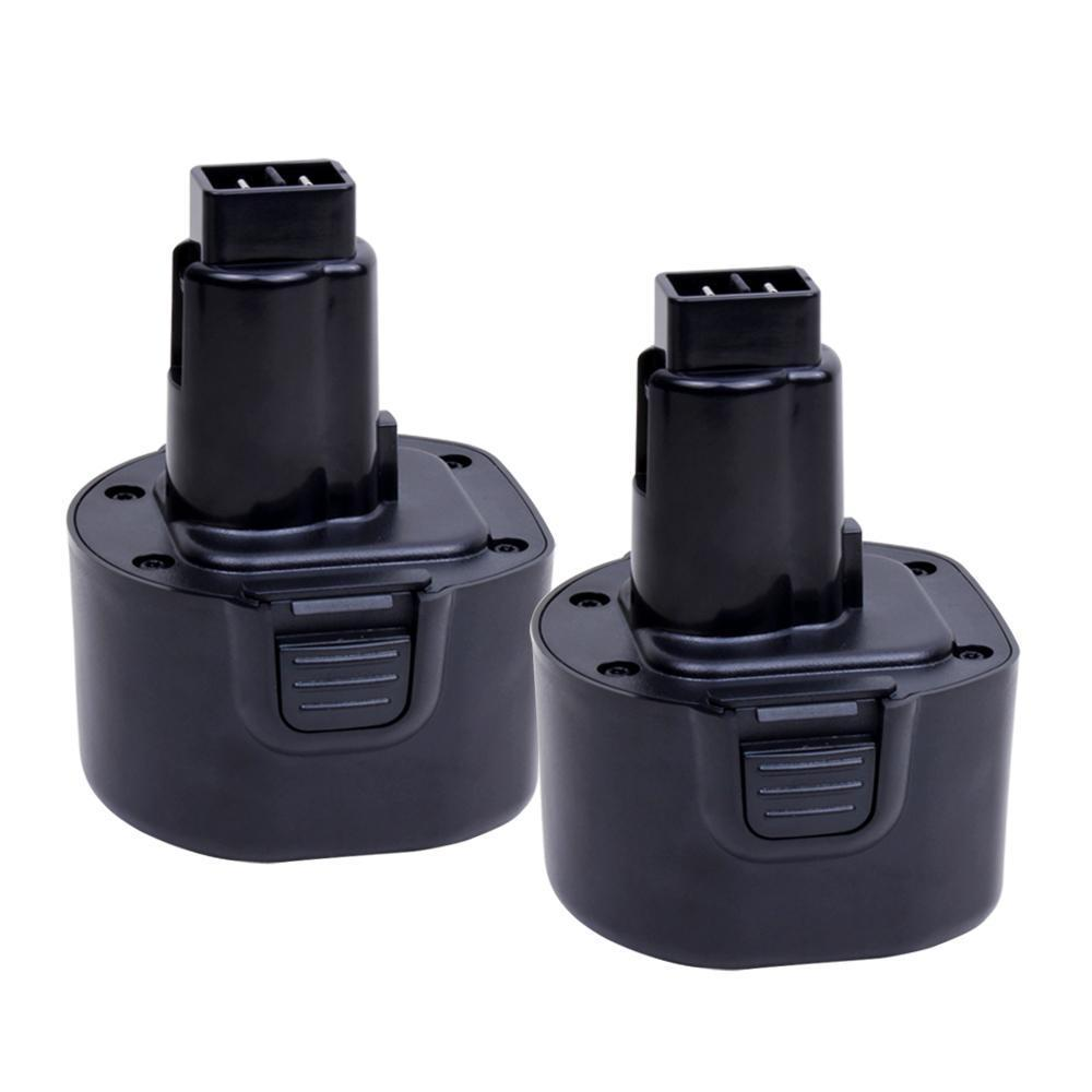 2 Pack For Dewalt 9.6V Battery Replacement | DC9062 3.6Ah Battery
