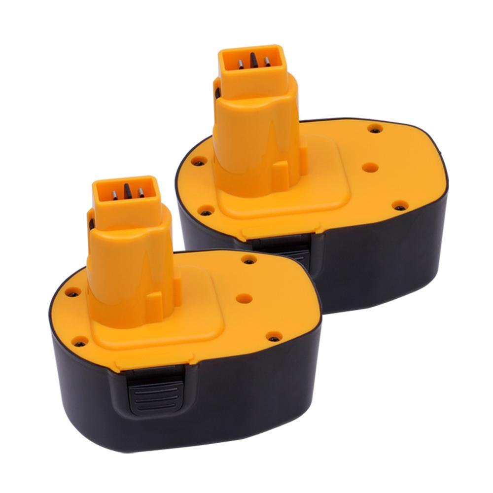 For Dewalt 14.4V Battery Replacement | DC9091 2.0Ah Ni-CD Battery 2 Pack - Vanonbattery