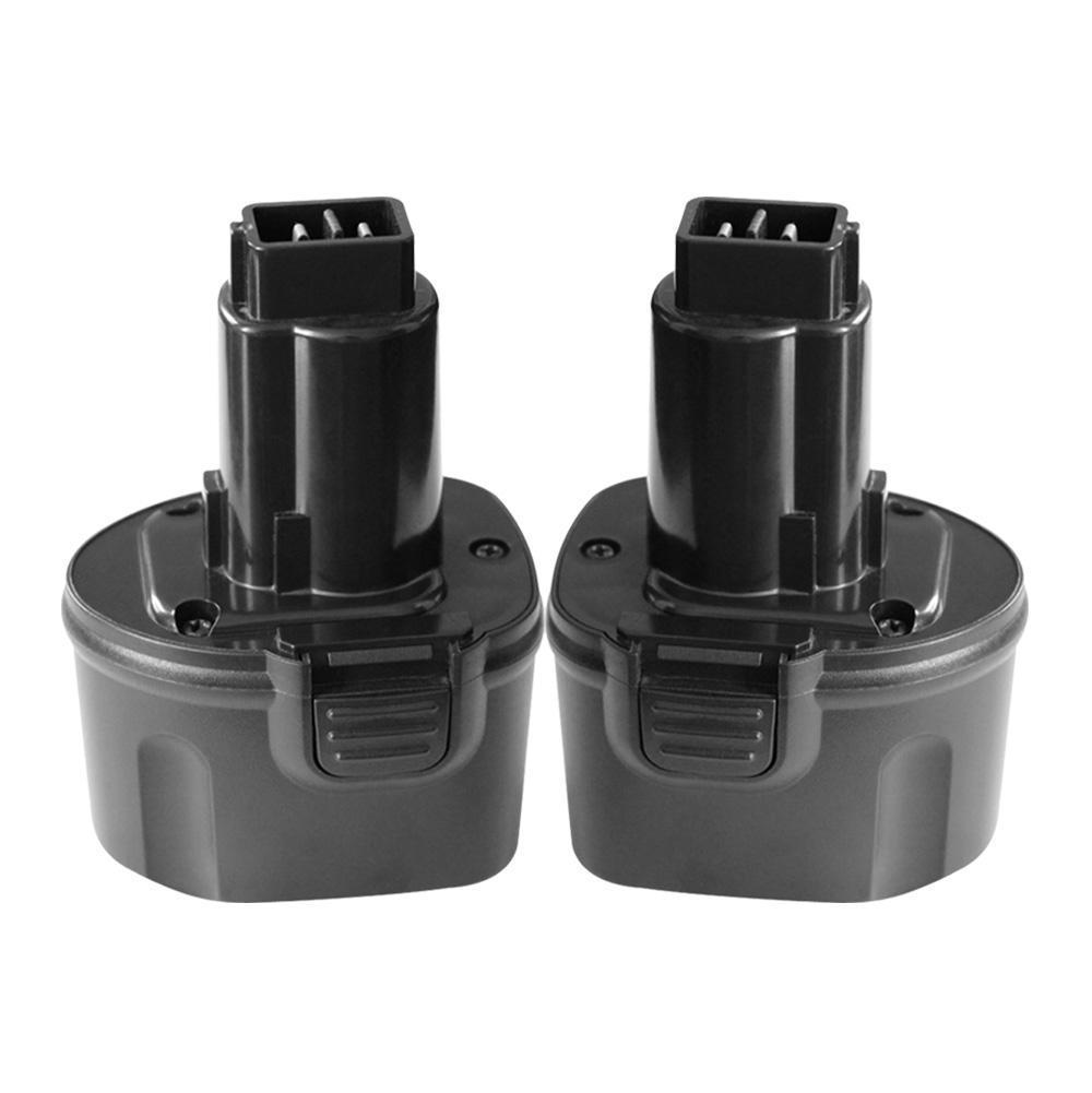 For Dewalt DC9057/ DE9085/ DW9057 7.2V Battery Replacement | 3.6Ah Ni-MH Battery 2 Pack