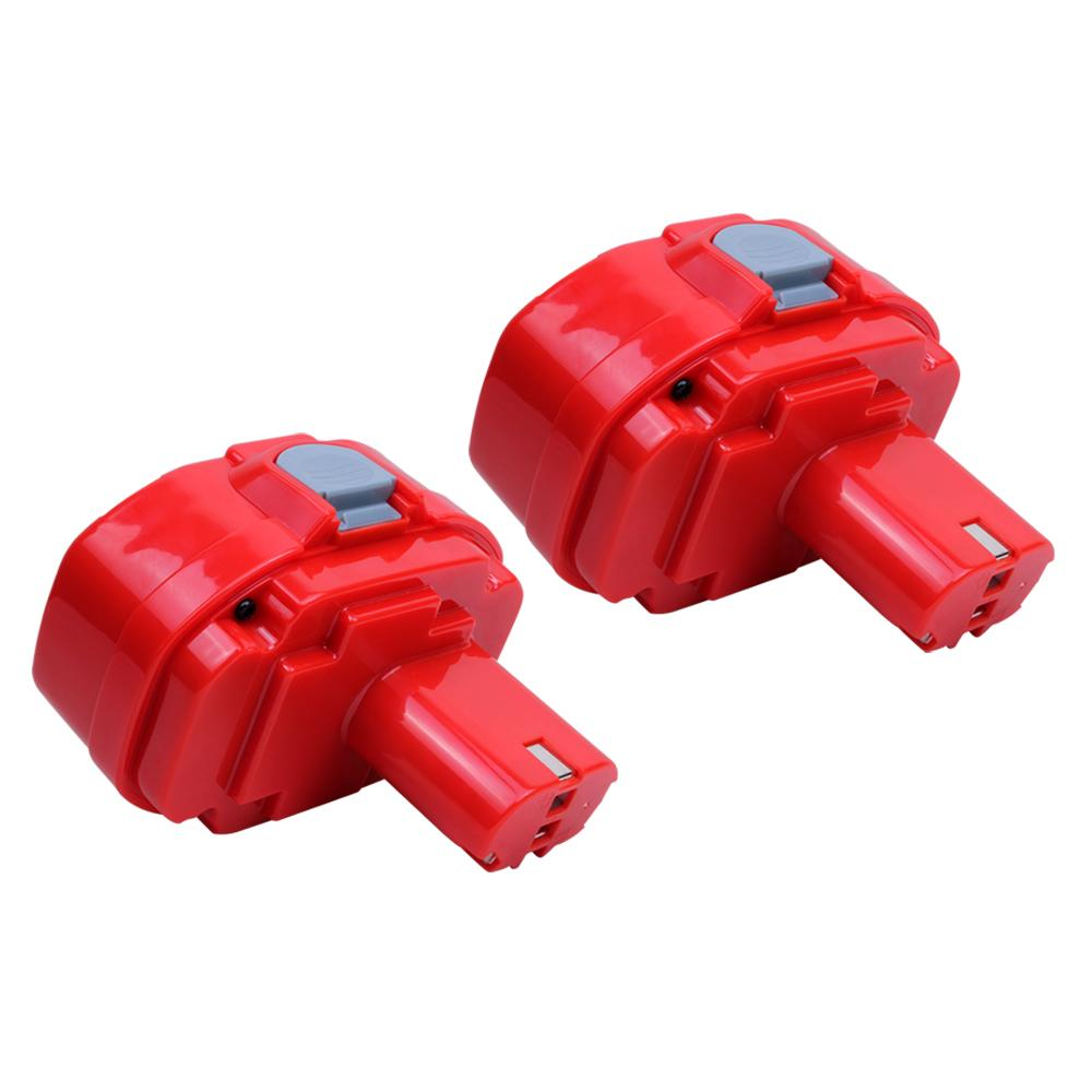 2x For Makita 18V 1822 Battery Replacement | 2.0Ah Ni-CD Battery - Vanonbattery