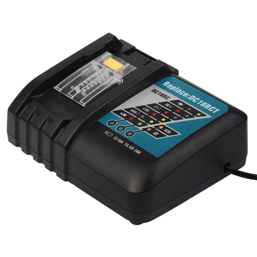 For Makita DC18RC 3A 14.4V-18V Charger - Vanonbattery