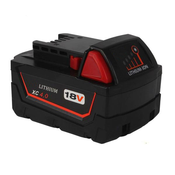 For Milwaukee 18V XC Battery Replacement | 4.0Ah Li-Ion Battery