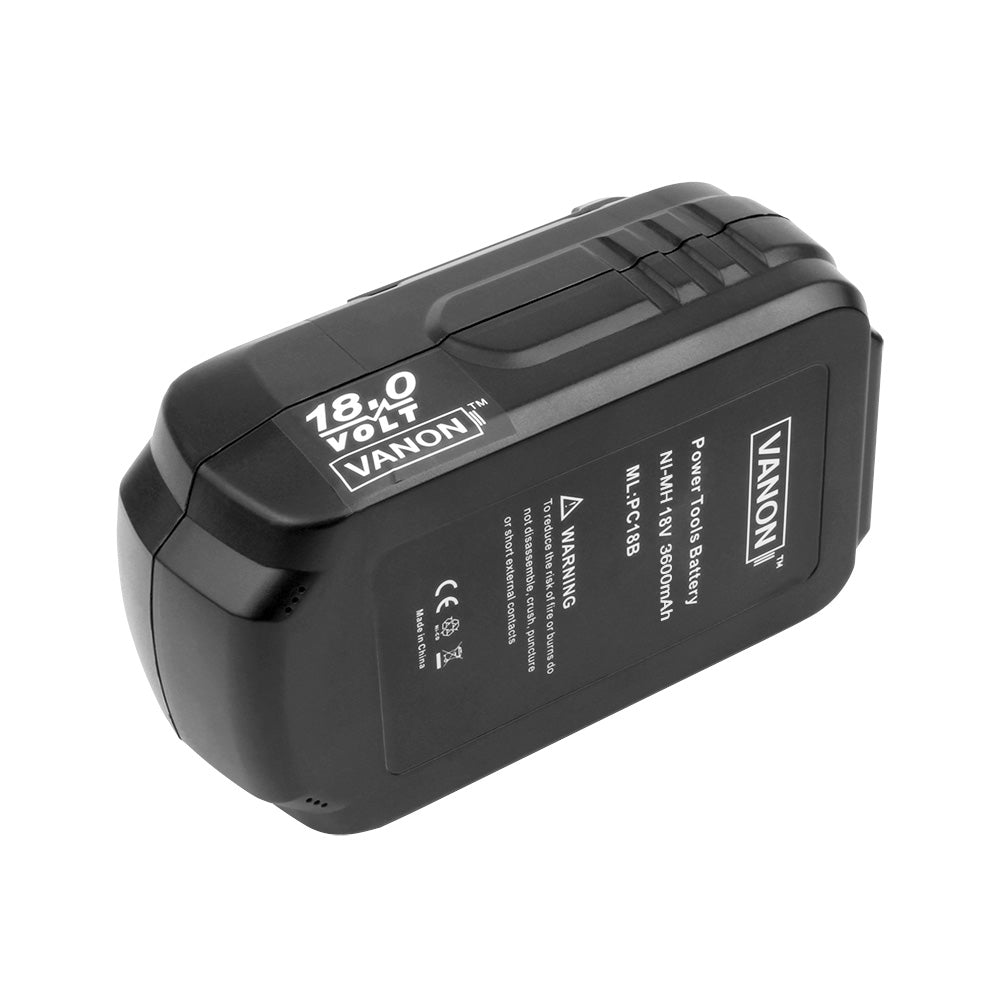 2 Pack For Porter Cable 18V PC18B Battery Replacement
