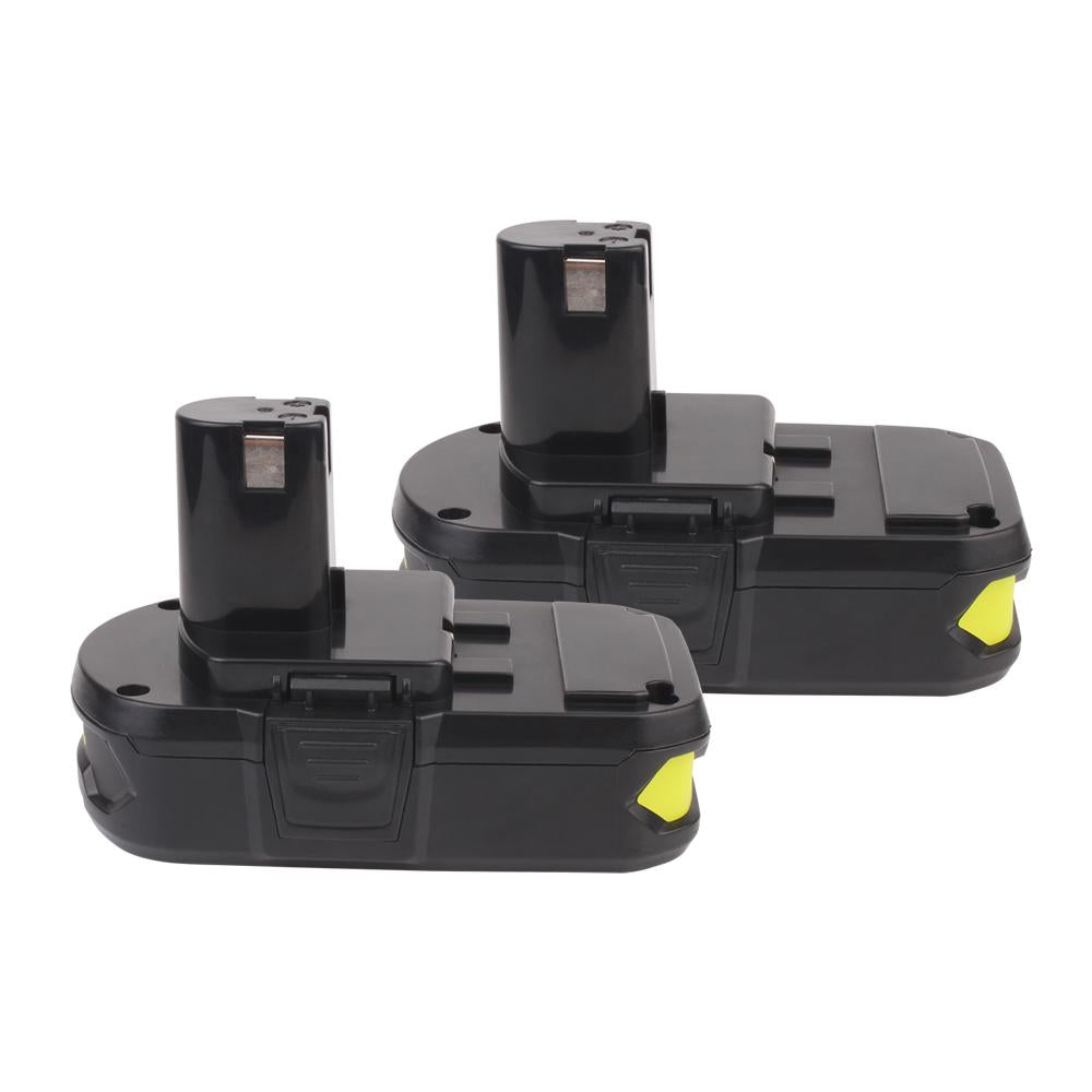 2x For Ryobi 18V P102 P104 Battery Replacement | 2.0Ah 18V Li-Ion Battery - Vanonbattery