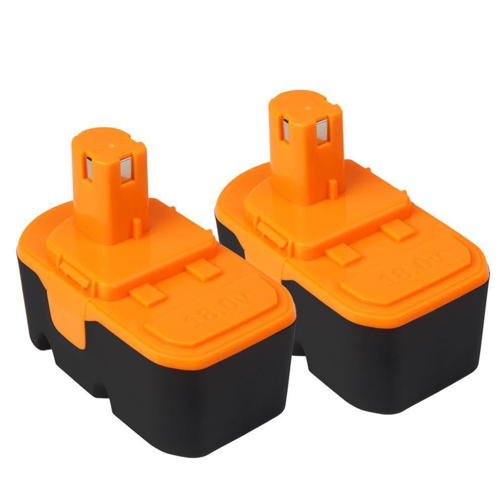 2x For Ryobi 18V P100 Battery Replacement |  2.0Ah Ni-CD Battery - Vanonbattery