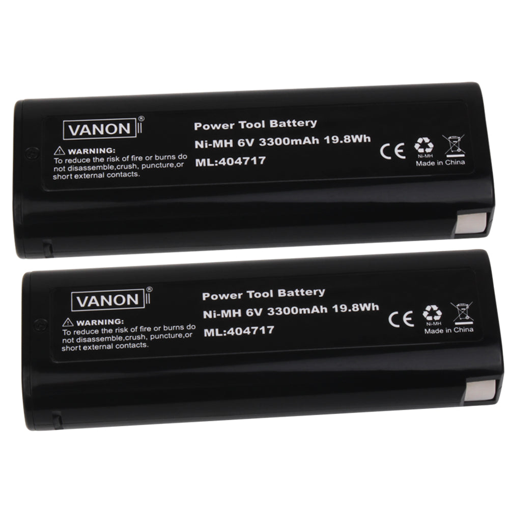 For Paslode 6V Battery Replacement | 404717 3.5Ah Ni-MH Battery 2 Pack