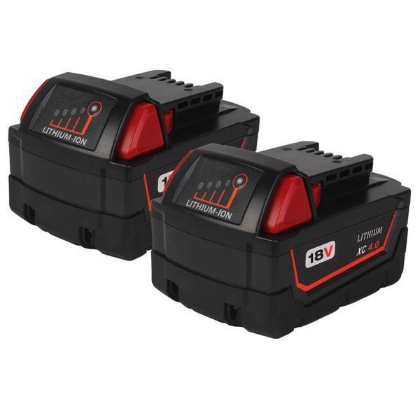 Milwaukee M18 Battery Replacement | 18V XC 4.0 Ah Li-Ion Battery | two"|600|600|?|ab8223586e8fe22f70be42c6cddc54f0|False|UNLIKELY|0.3273628354072571