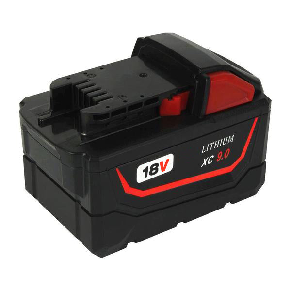For Milwaukee M18 18V XC 9.0Ah Battery Replacement Li-Ion