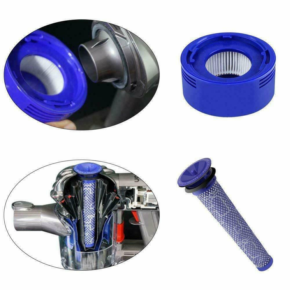 Replace Filter For Dyson V8 V6 V7 DC58 Animal Compatible Washable & Brush Parts