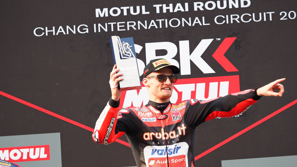 Chaz Davies Takes win in 2nd Race in Thailand