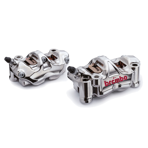 BREMBO GP4-RX CNC BILLET BRAKE CALIPER SET WHEELBASE 100mm 108mm 130mm