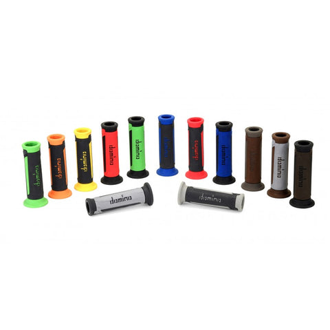 Domino Dual Colored TURISMO Grips - Multiple Colors - Apex Racing Development
