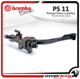 Brembo Billet CNC Rear Thumb Break Master Cylinders Pollice