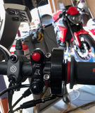 Yamaha YZF-R3 2015+ Engine Start/Stop Switch + Domino XM2 Quick Turn Throttle - Apex Racing Development