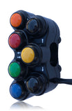 GENERIC SEVEN BUTTON MOTORCYCLE SWITCH LH - Apex Racing Development