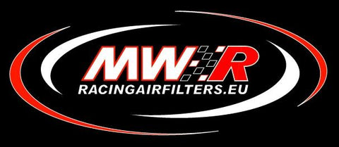 MWR Pod Filters with 30¡ 57mm Rubber Sleeve for Dell'Orto and Kehin Carbs - Apex Racing Development