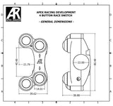 FOUR BUTTON RACE SWITCH FOR KTM DUKE 790 2020 - Apex Racing Development