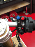 THREE BUTTON ENGINE SWITCH FOR MV AGUSTA F3, F4 WITH AUXILIARY FUNCTION (BREMBO MOUNT INLINE) - Apex Racing Development