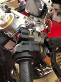THREE BUTTON ENGINE RACE SWITCH FOR DUCATI PANIGALE (BRAKE MASTER MOUNT OFFSET) - Apex Racing Development