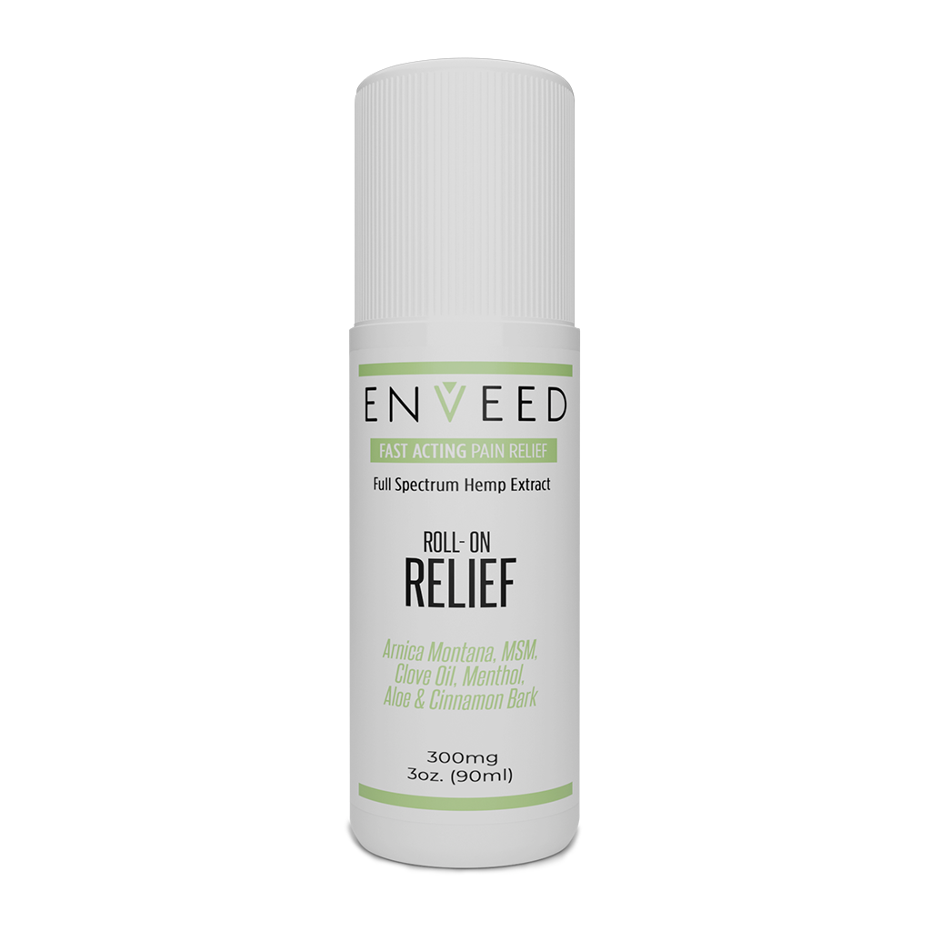 RELIEF - CBD TOPICAL ROLL-ON (300mg)