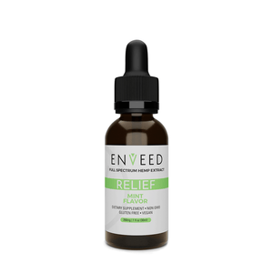 RELIEF CBD Oil Tincture - Mint