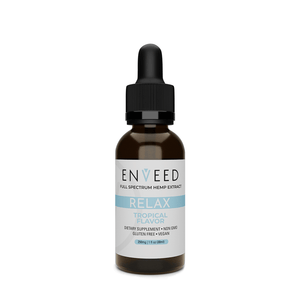 RELAX CBD Oil Tincture - Tropical