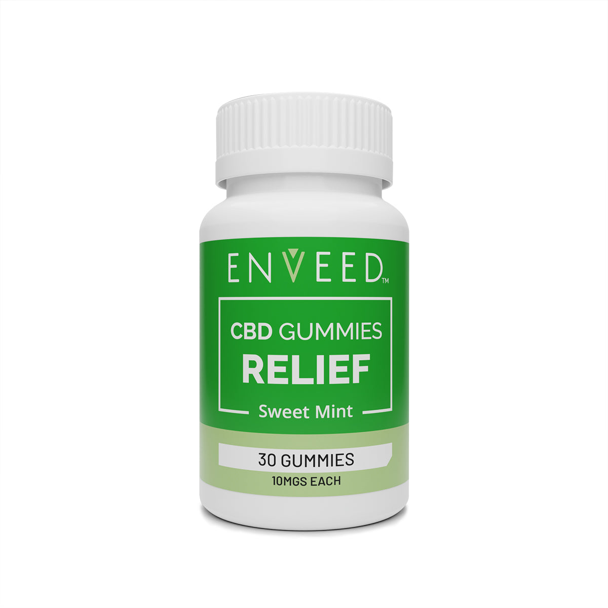 RELIEF - CBD MINT GUMMIES (10mg)