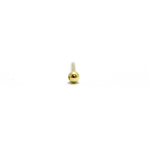 Globe Ear Stud 2 mm