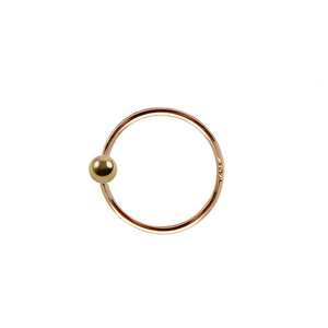Gold Ball Hoop