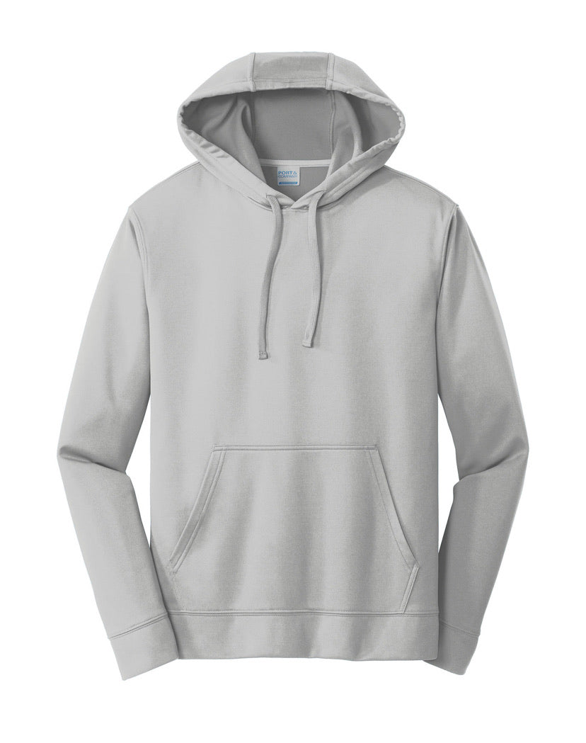 Port & Company 100% Polyester Sport Hoodie