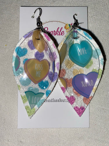 Conversation Hearts Earrings