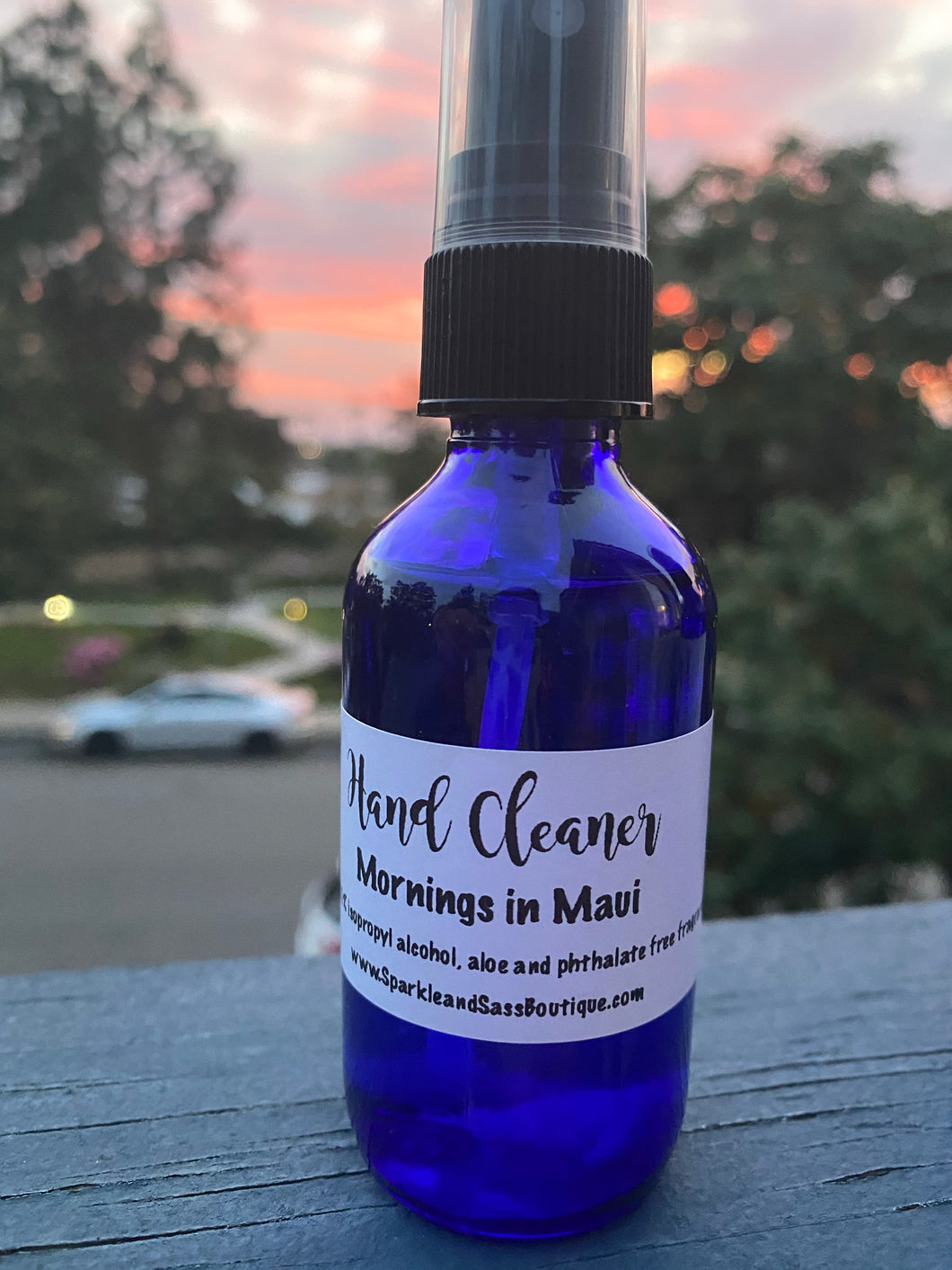 2 oz. Mornings in Maui Hand Cleaner spray
