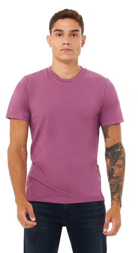 Bella Heather Magenta 3001CVC Tee