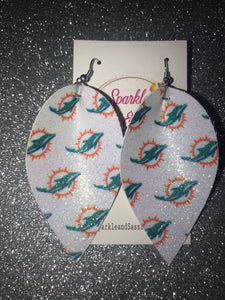 Sparkly Dolphin Earrings