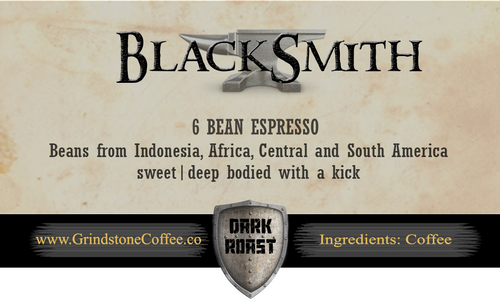 BlackSmith (6 Bean Espresso) - 2oz Sample