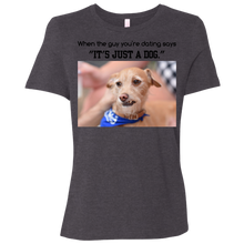 It's just a dog - Relaxed Jersey Short-Sleeve T-Shirt