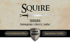 Squire (Tanzania) - 2oz Sample