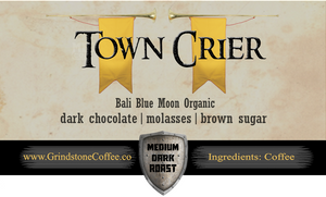 Town Crier (Bali Blue Moon Organic) - 2oz Sample