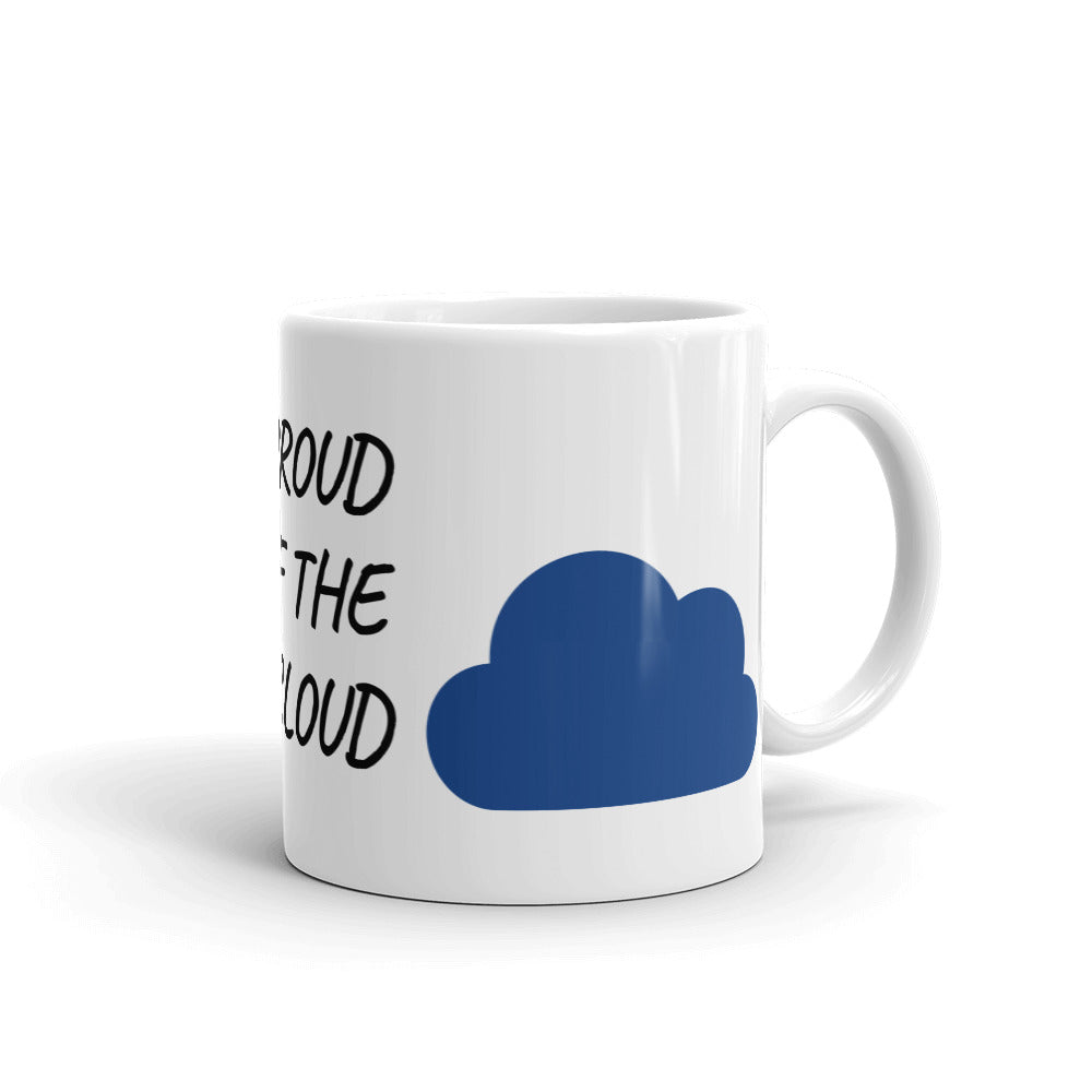 Load image into gallery viewer proud cloud mug cool coffee cups and stuff
